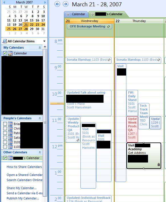 Google Internet Calendars and Outlook 2007 - The DST Fun ...